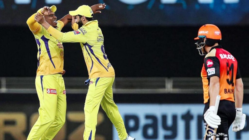 IPL 2020 Relieved win for CSK beat Sunrisers Hyderabad by 20 runs